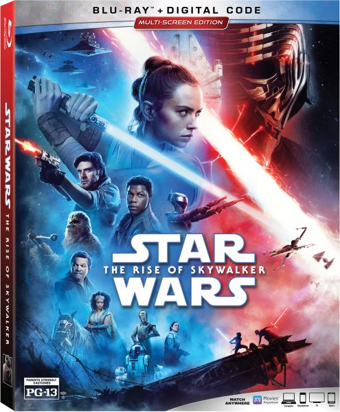 Star Wars: The Rise of Skywalker Blu-ray Combo Pack Giveaway