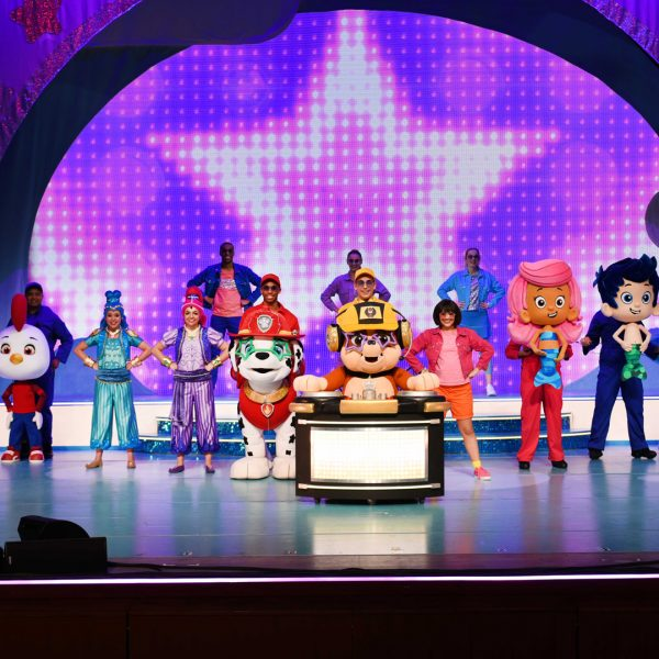 Nick Jr. Live! Move To The Music! Family 4 Pack Giveaway