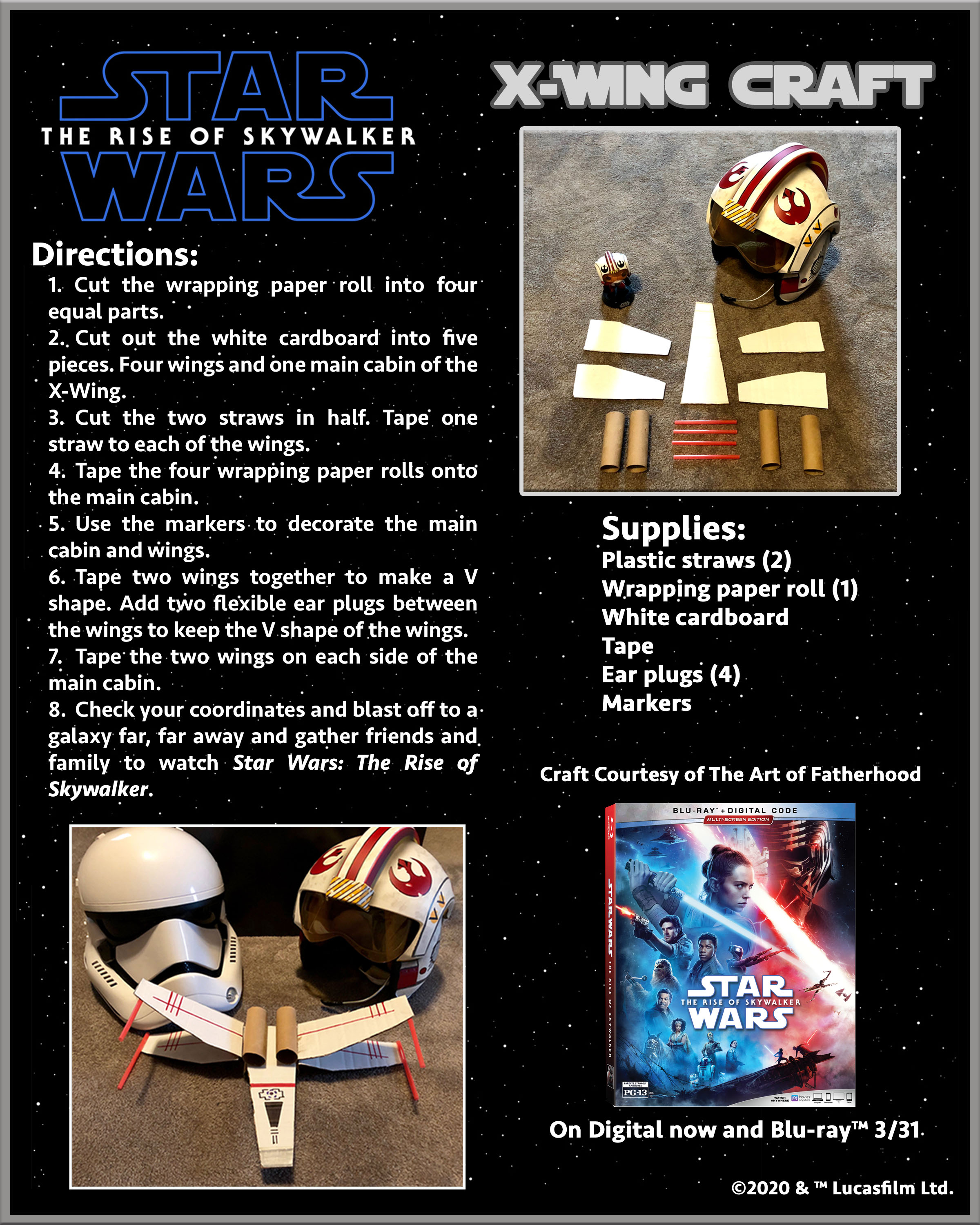 Quarantine Activities For The Star Wars Fans!