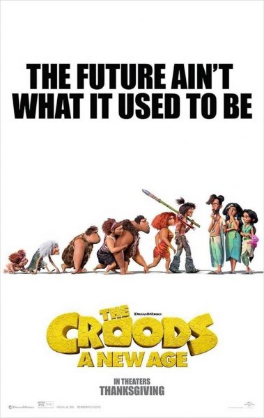 The Croods: A New Age, In Theaters in November!