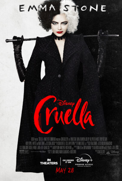 Cruella Premieres May 28th
