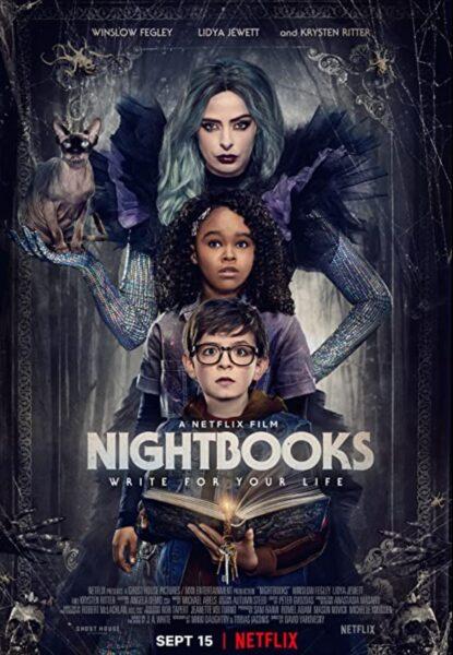 Nightbooks Movie Premieres Today on Netflix!