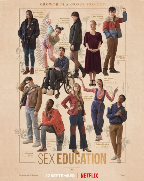 Sex Education Season Three Premieres Today!